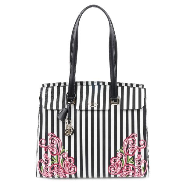 Arianna - Shopper - Black Stripe