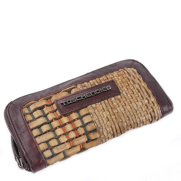 Cow Woven - L Wallet - Offwhite