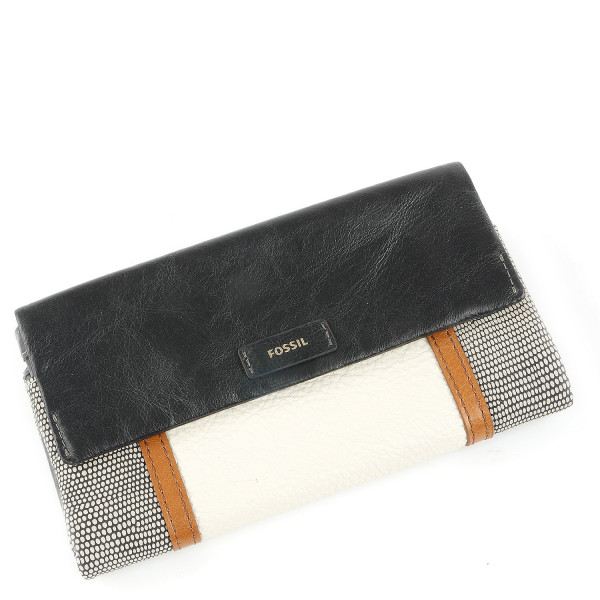 Ellis Clutch - Black Patchwork