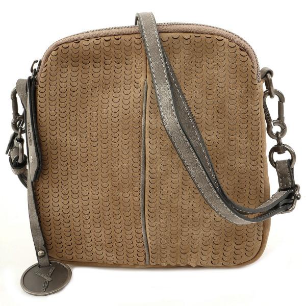 Ruby Top Zip Bag - Sand