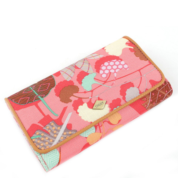 Botanic Pop L Wallet - Pink Flamingo
