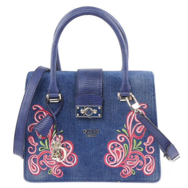 Arianna - Small Satchel - Denim