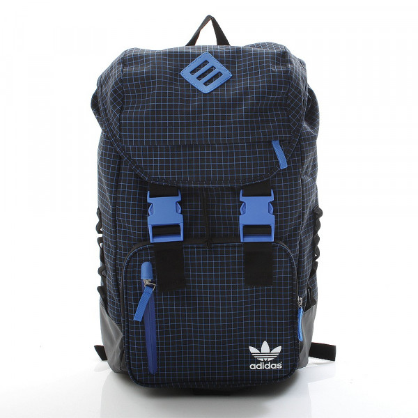 Street Rucksack - Adicolor Backpack Black/Bluebird