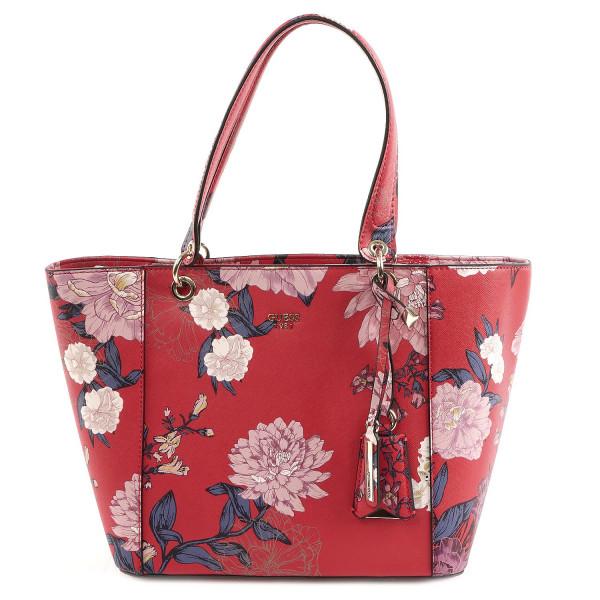 Kamryn - Tote - Red Floral