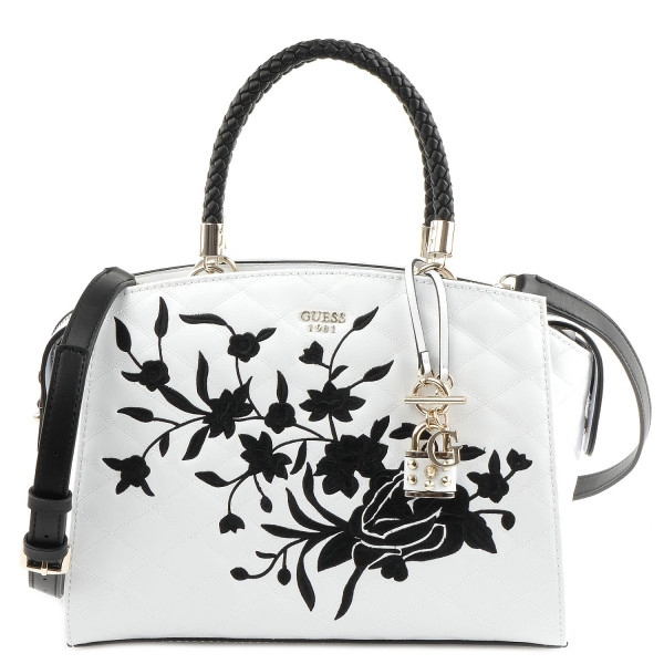 Heather - Satchel - White Multi