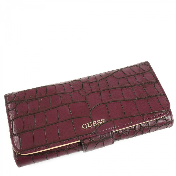 Frankee - File Clutch - Bordeaux