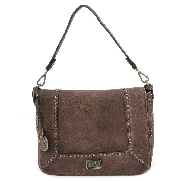 Gipsy L Flap Bag - Dustyrose