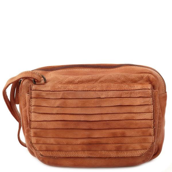 Cow Crust Small Shoulder Bag - Tan