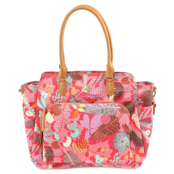 Botanic Pop Carryall - Pink Flamingo