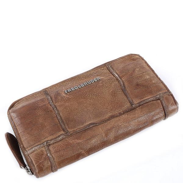 Straight Cut - Wallet Mega - Hazelnut