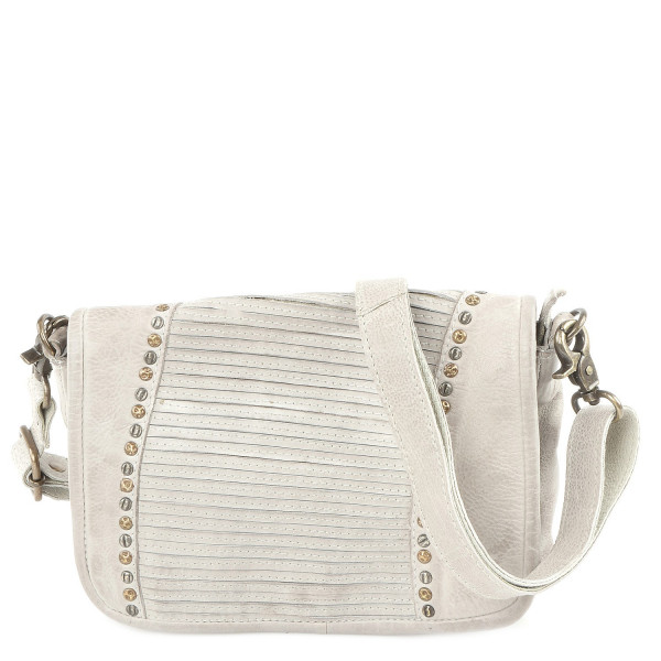 Cow Striped - S Shoulderbag - Offwhite