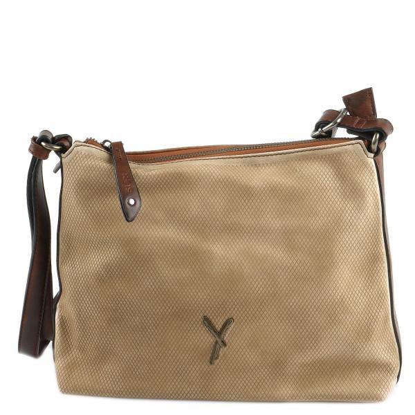 Kimmy - Top Zip Bag - Cognac