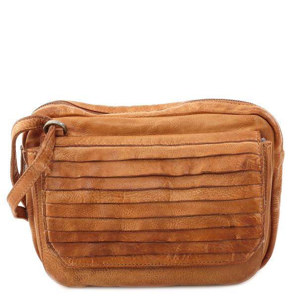 Cow Crust Small Shoulder Bag - Cognac