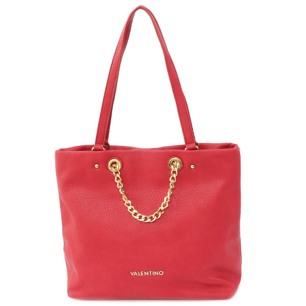 Winter Avantgarde Shopping Bag - Rosso