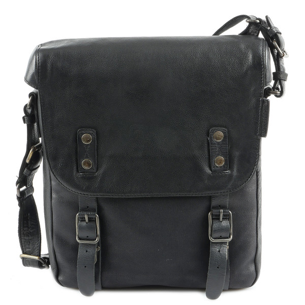 The French Fork - Postbag M - Black