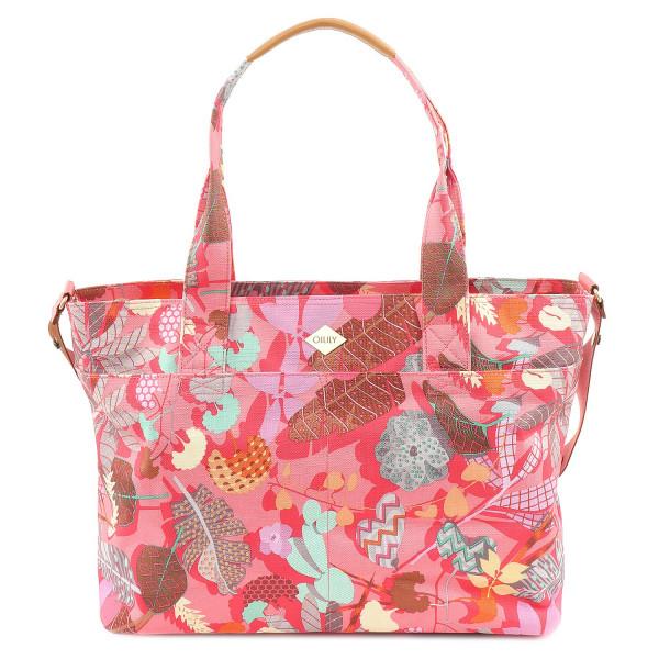 Botanic Pop Diaper Bag - Pink Flamingo