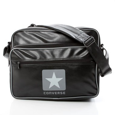 Blocklogo Shoulder Bag Laptop - Schwarz