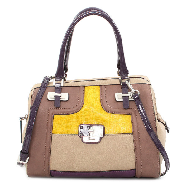 Sheena - Box Satchel Purple Multi