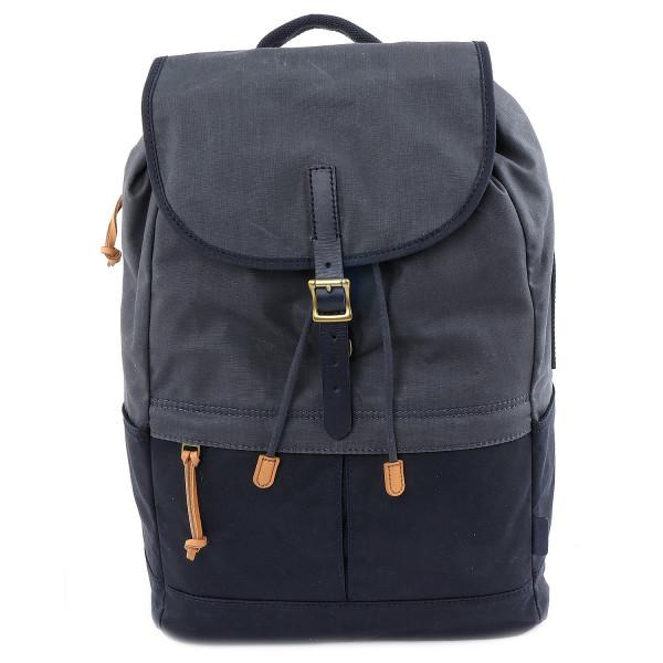 Defender Backpack - Black-Grey-Blue