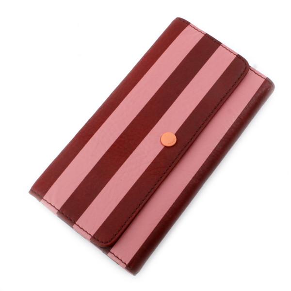 Abbot Leather Clutch mit Handyfach - Stripe