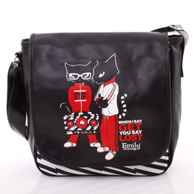 Tasche - Run Kitties Messenger Bag