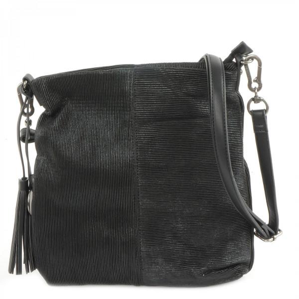 Elly - Top Zip Bag - Black