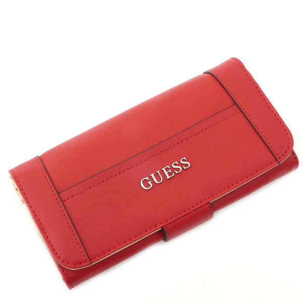Delaney - File Clutch - Cny Red