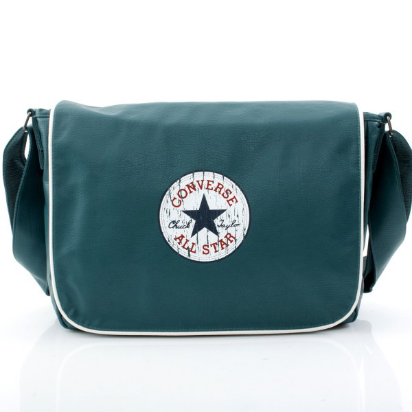 Vintage Flapbag Laptop - Medium Green