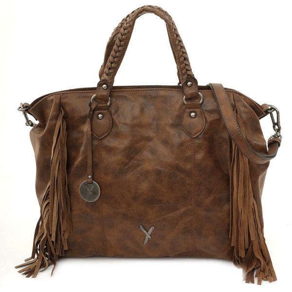 Franzy Shopper  - Cognac