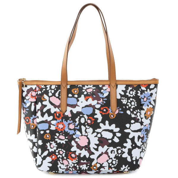 Sydney Print Shopper - Dark Floral