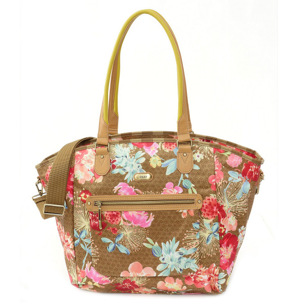 Tropical Peony - Carry All - Gold