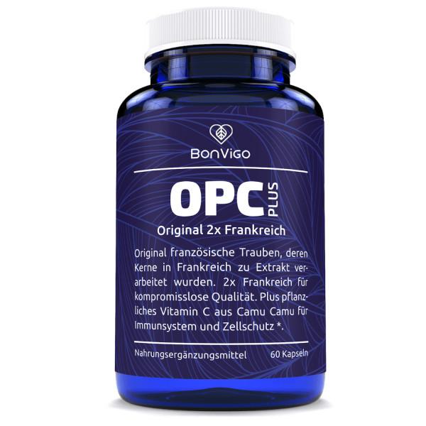OPC Plus - Traubenkernextrakt Premium 2x Frankreich