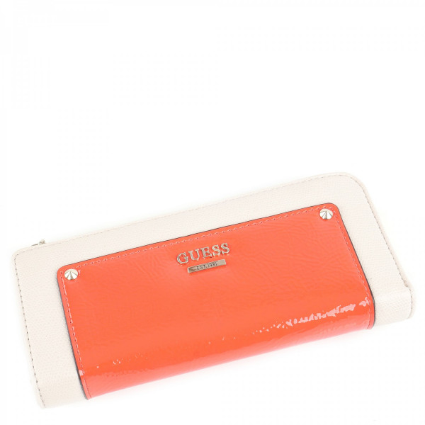 Cool Mix - Slim Zip Wallet - Lipstick