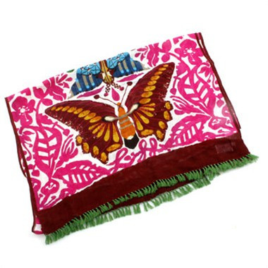 Butterfly Oblong Pink